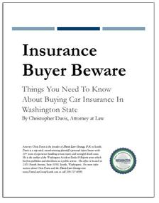 REPORT: Insurance Buyer Beware: Buying Car Insurance in Washington